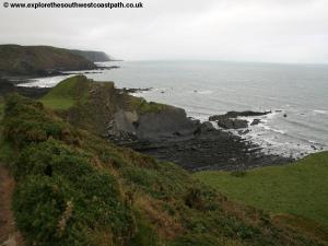 The coast at Hartland Quay