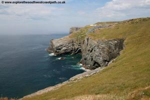 Approaching Tintagel