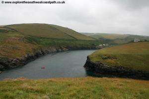 The mouth of Portquin