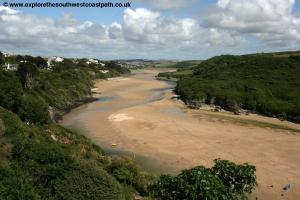The Gannel, Crantock