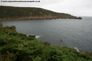 Leaving Lamorna Cove