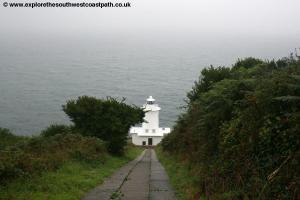 The Lighthouse west of Lamorna Cove