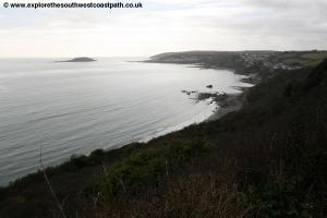 View back to Looe near Millendreath