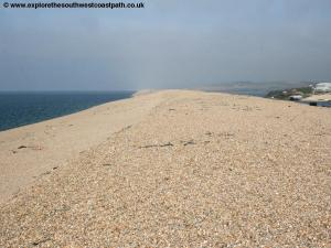 Chesil Beach Wyke Regis training area