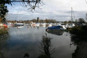 The River Stour in Christchurch