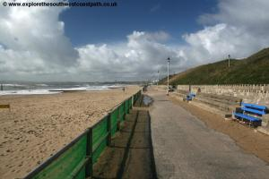 The promenade at Southbourne