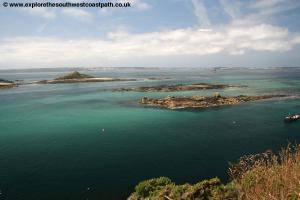 Looking west from Herm