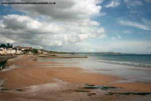Dawlish Beach.