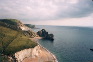 View of Durdle Door from Swyre Head