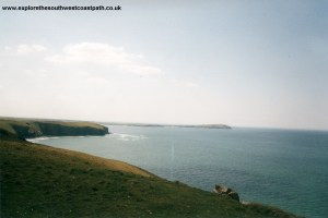 Gunver Head and Trevose Head from Stepper Point